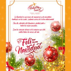 mensaje navideño BORDE AMARILLO